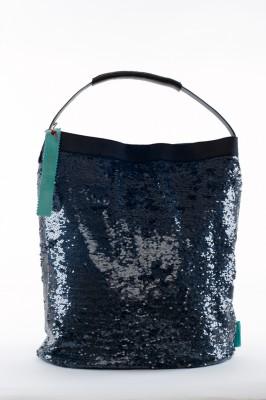 blau schwarz tweed verstrihen